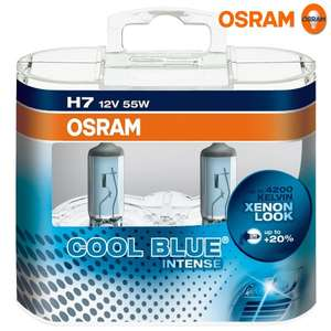 Osram 64210CBI-HCB COOL BLUE INTENSE H7 nur 12,81€ inkl.Vsd @Amazon Prime