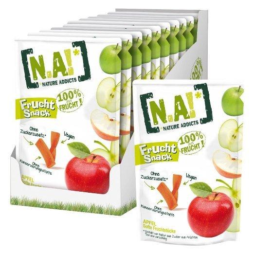 [Amazon.de-Prime] N.A! Frucht Snack Apfel, 30er Pack (30x 35 g). Wieder da
