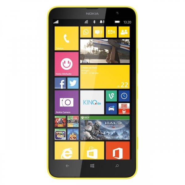 [getgoods.de] Lumia 1320 GELB LTE - 6'' Phablet mit Glance und 3200 mAh für 134,95 € - nächster Preis 30 € mehr!