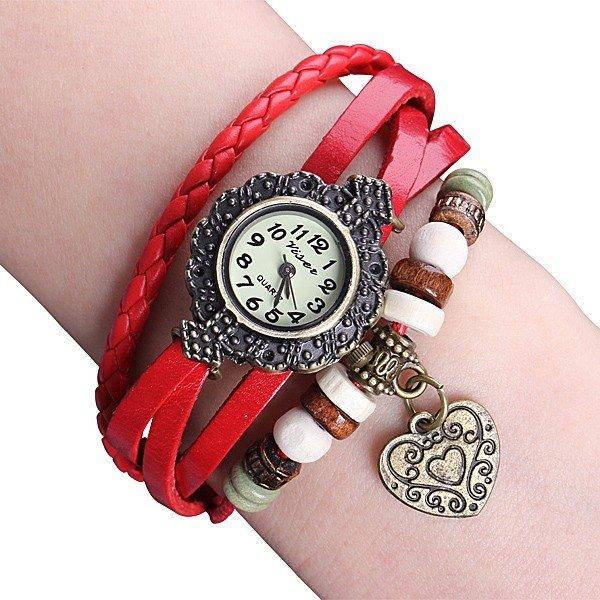 Leder Damenarmbanduhr für 0.99€ mit Versand aus Deutschland - Preisfehler? @china-handy.cc