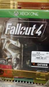 (lokal) Fallout 4, Xbox One & PS4 (Saturn - 91522 Ansbach)