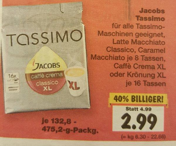 [Kaufland Duisburg] Tassimo Disc/Kapseln