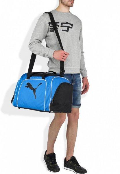 PUMA Fußball-Tasche Sporttasche Team Cat Medium Bag Blau für 14,46 € @ allyouneed marktplatz