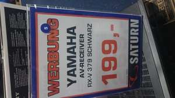 Yamaha AV Receiver RX-V379