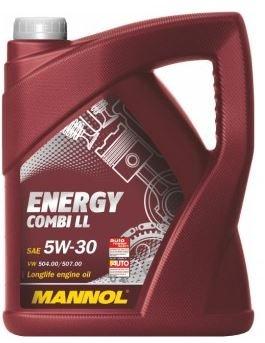 Mannol 5W-30 (Longlife) Motorenöl 5 Liter für 19,70€