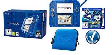 [Quelle] Nintendo 2DS + Pokémon Alpha Saphir vorinstalliert + Tasche, Konsolen-Set mit 3 Jahren Garantie