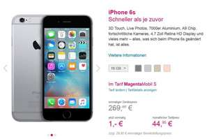 iPhone 6S (und Plus) - 1€ Aktion der Telekom