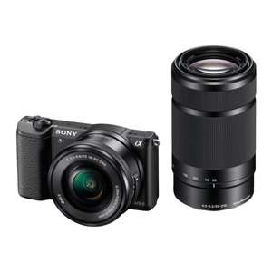 Sony Alpha 5100 Kit 16-50 mm + 55-210 mm für 545,45€ bei Amazon.fr