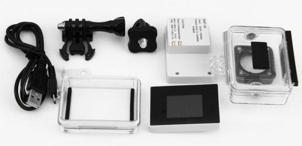 Xiaomi Yi DISPLAYmit UW Gehäuse + Batterie Pack 37,51€ (+4%Qipu)