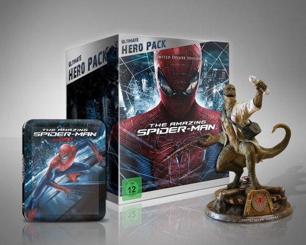 Amazon PRIME: The Amazing Spider-Man (Ultimate Hero Pack + Figur) für 49.97