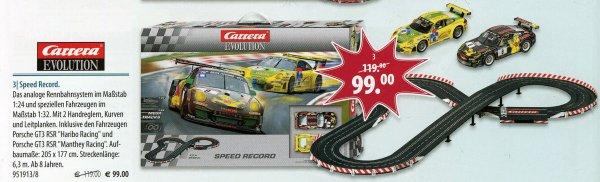 Carrera Evolution Speed Record 20025202 Rennbahn