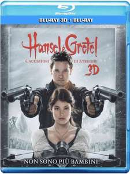 Hänsel und Gretel: Hexenjäger [Blu-Ray 2D + Blu-ray 3D] inkl. Vsk für 9,66 € > [amazon.it]