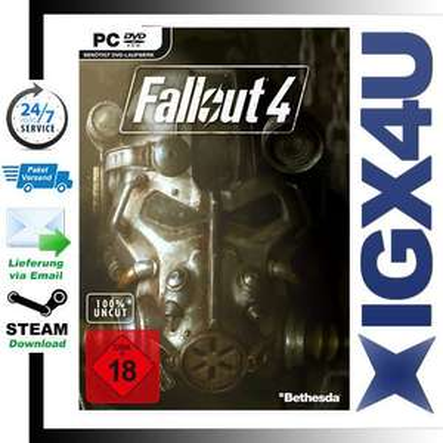 Fallout 4 Steam Key Uncut für 41,99€ Sofortversand
