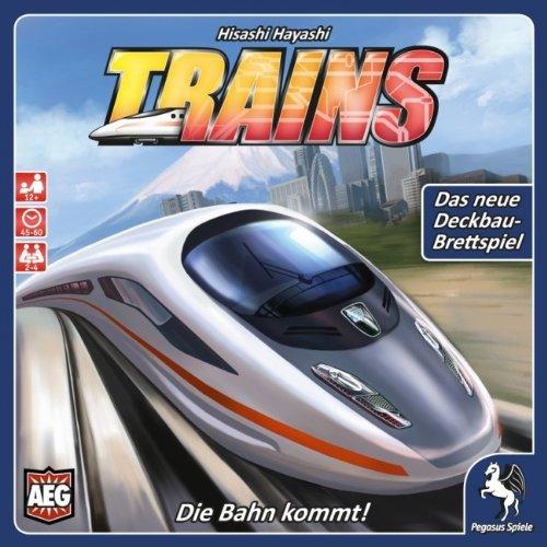[Amazon.de-Prime] Pegasus Spiele 51055G - Trains - Die Bahn kommt! Brettspiele