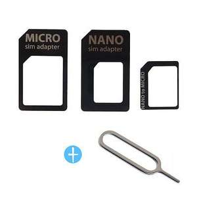 [Ebay] 3x SIM Karten Adapter