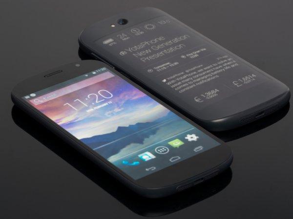 Yotaphone 2: Das schicke Dual-Display Smartphone mit AMOLED + E-Ink Display für 306 € [IBOOD]