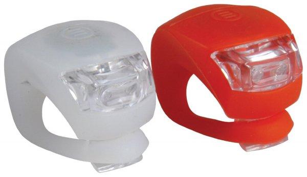 Notbeleuchtung: LED Fahrradleuchten für vorne und hinten inkl. Batterie für 1,90 Euro inkl Versand. Über Amazon aber Versand durch China Händler
