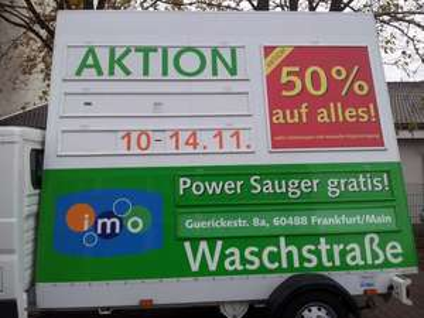 [Lokal Frankfurt am Main-Rödelheim] IMO Waschstraße - 50% auf alles*