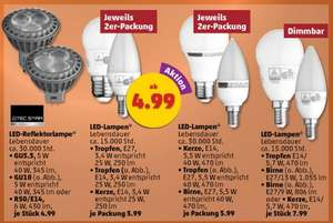 Penny Markt: Tecstar LED Lampen ab Donnerstag 12.11.2015