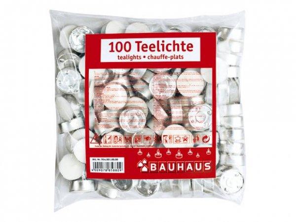 100 Teelichte von Bauhaus inkl Lieferung (!)  für 2,99 Euro