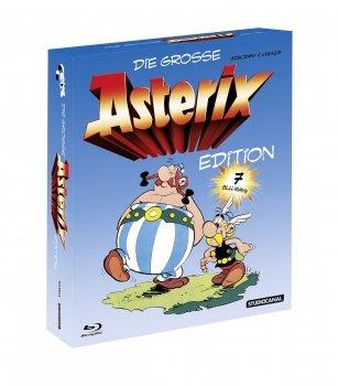 [Blu-ray] Die große Asterix Edition (u.a. Boxen), 3D-Filme (Mad Max Fury Road 3D 17,94€...) + Serien @ Alphamovies (Sammeldeal) - 3€ Gutschein ab 30€