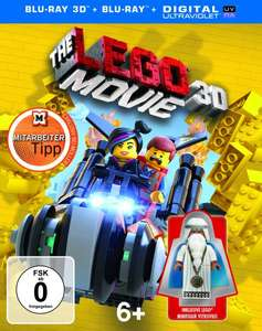 [Blu-ray]  The Lego Movie 3D inkl. Lego Minifigur (exklusiv) @ Müller