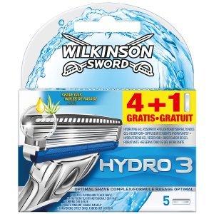 [Rossmann] Wilkinson Hydro 3 Klingen 4+1 für 3,14 (Angebot+Coupon)