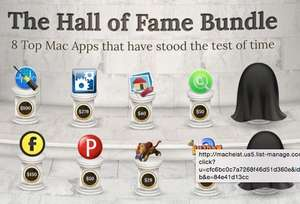 "MacHeist ""The Mac Hall of Fame Bundle"" ab $15 für 10 Mac-Apps (Wert: $811)"