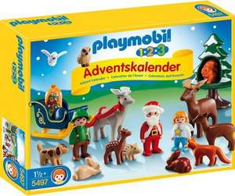[lokal] PLAYMOBIL 1.2.3 Adventskalender  Waldweihnacht  Nr. 5497 für 12,95 @ Thomas Philipps (@ Globus durch Preisgarantie)