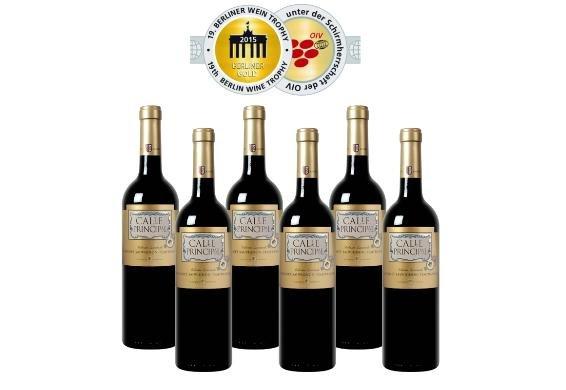 [Update /3% Qipu] 6x Bodegas Vinedos Contralto - Calle Principal prämierter Rotwein von Weinvorteil für 27,95€ frei Haus @Dealclub