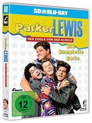 [Blu-ray]  Parker Lewis - Der Coole von der Schule - Die komplette Serie (SD on Blu-ray)  @ Amazon (Prime)