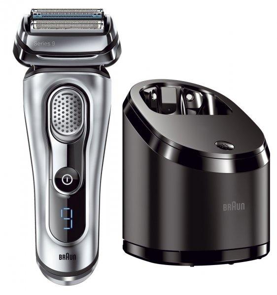 (Blitzangebot) Braun 9090cc elektrischer Rasierer mit Reinigungsstation  +50€ Cashback