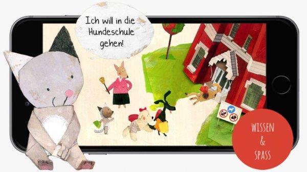 Lucy & Pogo (Mini-Games fördern Vorschulwissen) - App für iPhone iPad