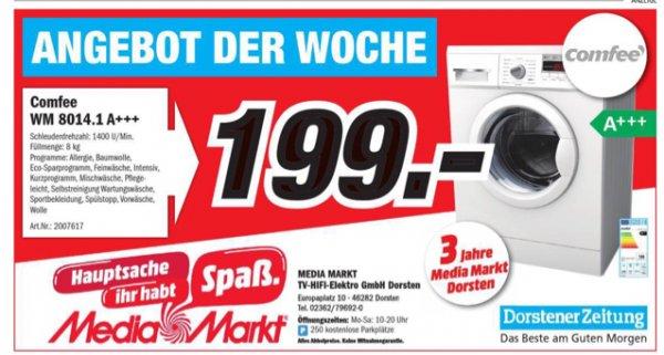 Waschmaschine Comfee WM8014.1 A+++
