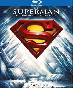 [Blu-ray] Die Superman Spielfilm Collection (8 Discs) @ Zavvi.de