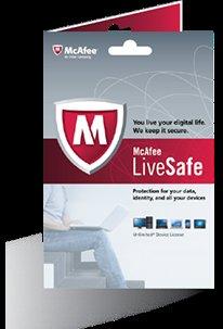McAfee LiveSafe - 1 Jahr kostenlos