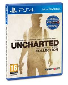 [abgelaufen] Uncharted - The Nathan Drake Collection (PS4) für 37,95 Amazon.it