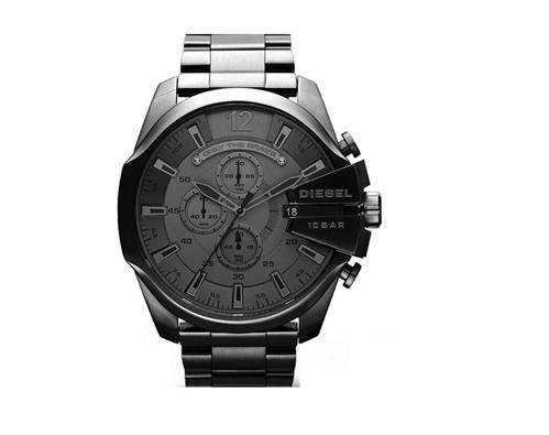 [Null.de] Diesel Herren-Armbanduhr XL Mega Chief Chronograph DZ4282, NEU