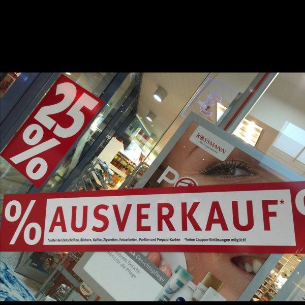 Rossmann Bremen Walle 25% Rabatt auf das Gesamte Sortiment! (Filialschließung)
