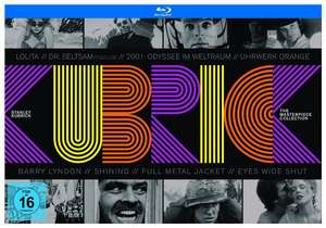 [Blu-ray] Stanley Kubrick - The Masterpiece Collection (10 Blu-rays) für 38,95€ @ Alphamovies (Primeval New World Season 1 Gratisbeilage)