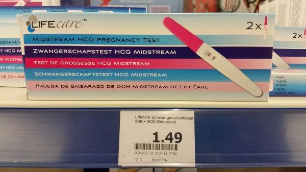[Action] 2x Schwangerschaftstests