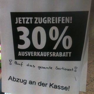 [lokal] 30% auf alles - Weltbild Löhr-Center Koblenz
