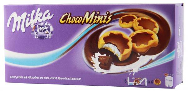 Milka Choco Minis 185g, Moo 200g, Naps 138g @Xenos (offline)