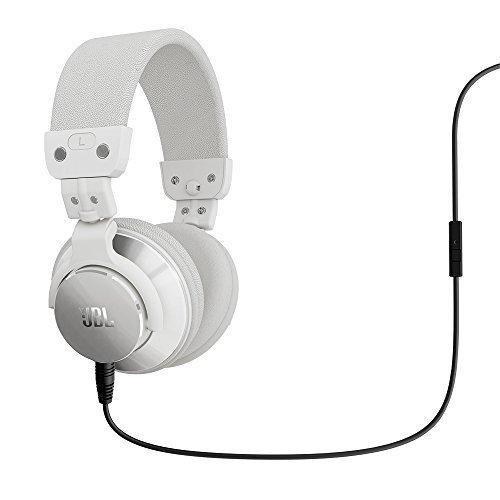JBL Bassline DJ On-Ear-Kopfhörer mit 1-Knopf Fernbedienung und Mikrofon weiß für 46 € > [mediamarkt.de] > Vsk frei