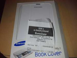 [Euroshop Pinneberg] Samsung Galaxy Tab 2 7.0 BookCover, sowie Tab 3 7.0 Cover