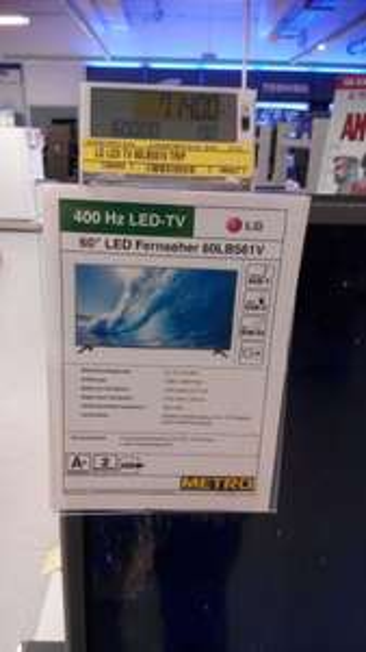 "60"" LED von LG Metro 714 EUR. (60LB561V)"