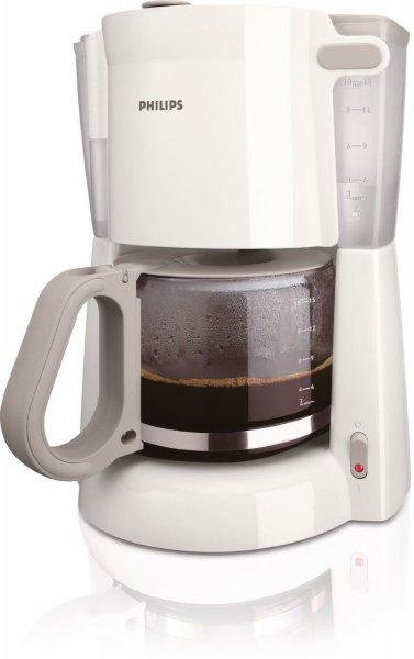 Ebay ) PHILIPS Kaffeemaschine HD7448 1,3L 10-15 Tassen Glaskanne weiss