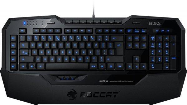 Roccat Isku Illuminated Gaming Tastatur (Blaue Beleuchtung)