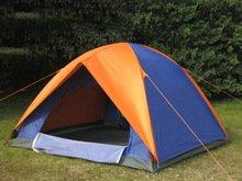 [Festival-Deal] [Aliexpress] 3 Mann Zelt inkl. Regenschutz, Heringen und Seilen für 2,49$ (gratis Versand)