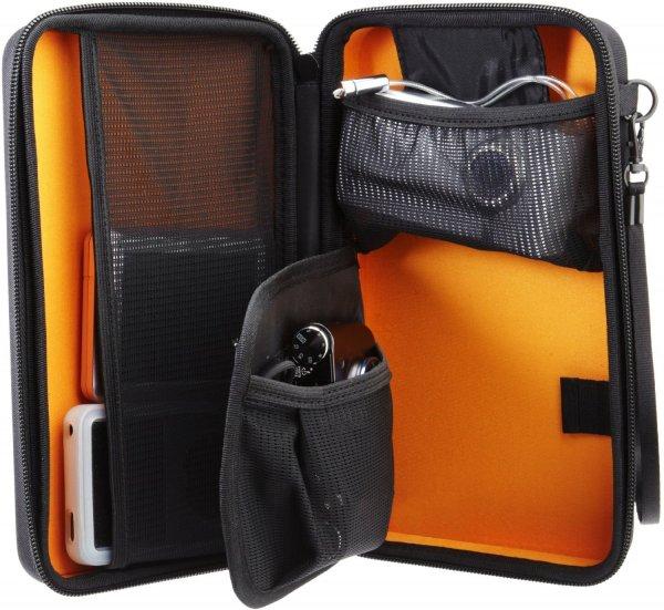 (Amazon.de-Prime) AmazonBasics Universaltasche für elektronische Kleingeräte 7,99€ und Armaturenbrett-Halterung für Navigationsgeräte für 9,19€